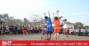 Can Lộc, Nghi Xuân nhiều hoạt động thể dục, thể thao mừng xuân mới