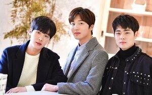 Dispatch phát hành bộ ảnh đẹp như mơ của bộ ba mỹ nam 'SKY Castle': Chani (SF9), Kim Dong Hee và Jo Byung Gyu