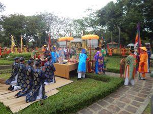 Khai ấn chúc xuân tại Hoàng cung Huế
