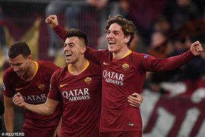 Sao trẻ lập cú đúp, AS Roma thắng sát nút trên sân nhà
