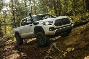 Toyota Tacoma 2020 ra mắt, nâng cấp ngoại hình và công nghệ