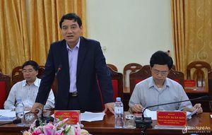 Lãnh đạo tỉnh làm việc với Tập đoàn Công nghiệp Cao su Việt Nam