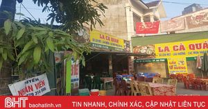 Lao động nghỉ tết, chủ nhà hàng, quán ăn ở Hà Tĩnh 'đau đầu'