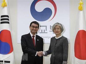 Hàn, Nhật hội đàm cấp bộ trưởng về vấn đề cưỡng bức lao động