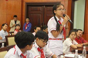 HS bày tỏ ước nguyện tới lãnh đạo TP.HCM