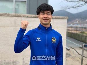 K.League chưa mở màn, Công Phượng đã có bàn thắng đầu cho Incheon United