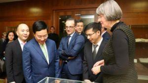 Hiệu quả chuyến thăm Đức của Phó Thủ tướng Phạm Bình Minh vượt ngoài mong đợi