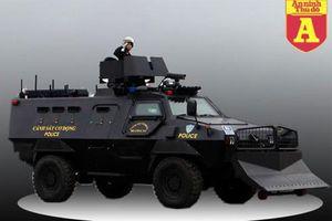 Siêu xe bọc thép hiện đại của Việt Nam bảo vệ hội nghị thượng đỉnh Mỹ - Triều