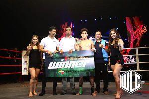 Duy Nhất giành chiến thắng K.O tại giải muay WLC