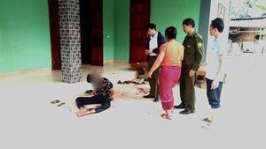 Khởi tố chồng siết cổ vợ rồi tự sát bất thành trong nhà