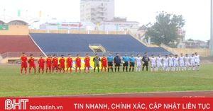 U19 Hồng Lĩnh Hà Tĩnh thất thủ trước U19 SHB Đà Nẵng