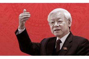 Báo chí Campuchia đưa tin đậm nét chuyến thăm của Tổng Bí thư, Chủ tịch nước