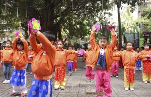 Trường Mẫu giáo Việt - Triều Hữu nghị: Biểu tượng đẹp về tình hữu nghị giữa 2 nước