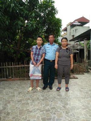 Gia cảnh đáng thương của Đại úy QNCN Nguyễn Văn Huấn