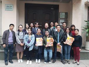 Chủ tịch Liên hiệp UNESCO Việt Nam làm việc với đại diện CLB UNESCO Kobe-Nhật Bản