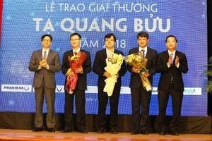 Tám nhà khoa học được đề cử Giải thưởng Tạ Quang Bửu năm 2019