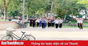 'Tiêu chí tinh thần' trong xây dựng nông thôn mới ở huyện Hoằng Hóa