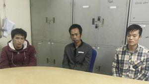 3 đối tượng truy nã người Trung Quốc trốn sang Việt Nam