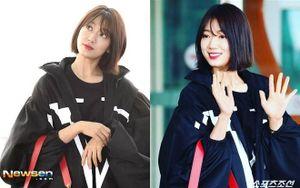 Park Shin Hye xuất hiện với phong cách khác lạ tại sân bay quốc tế Incheon, lên đường tham dự tuần lễ thời trang Paris