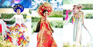 Mãn nhãn các bộ sưu tập áo dài trên phố Nguyễn Huệ