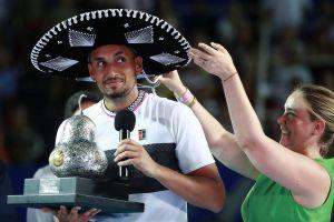 Abierto Mexicano Telcel: Đánh bại Zverev ở 'Next Gen' đại chiến, Kyrgios giành danh hiệu thứ 5