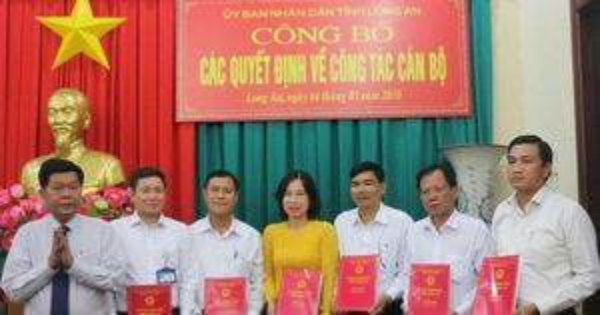ThS. Huỳnh Thị Thu Năm được bổ nhiệm Hiệu trưởng Trường Chính trị tỉnh Long An