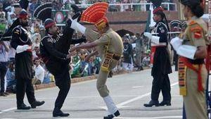 Vùng biên biểu tượng ở Kashmir