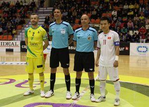 Đội tuyển futsal Việt Nam kết thúc chuyến tập huấn tại Tây Ban Nha