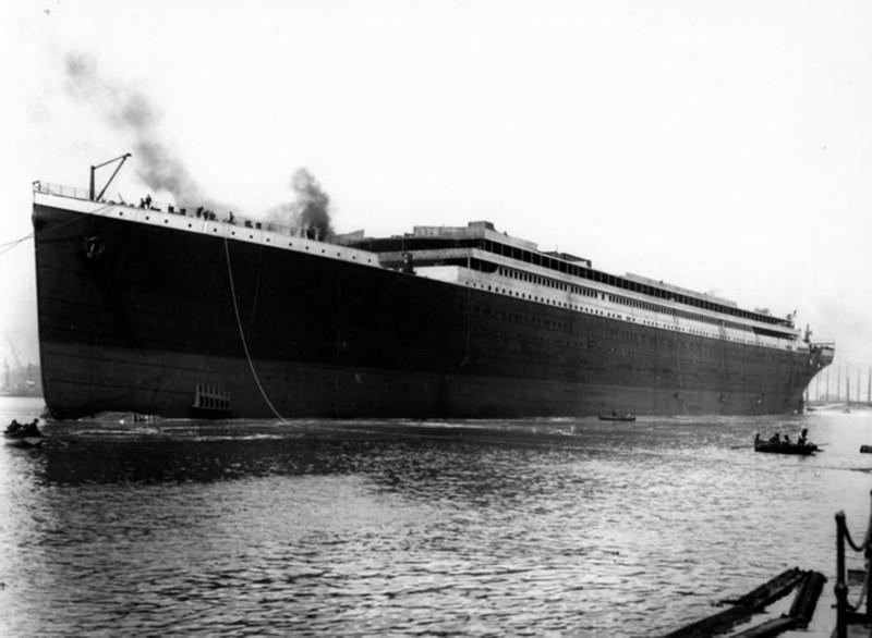 Ảnh chưa từng công bố về vụ chìm tàu Titanic thảm khốc