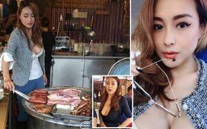 Cô nàng bán đồ nướng 'nóng bỏng nhất' Đài Loan khiến dân tình 'phát sốt'