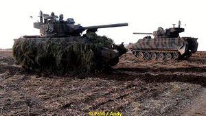 Mỹ đóng giả T-72B3 huấn luyện chiến đấu