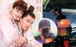 Chỉ một ngày sau khi Triệu Lệ Dĩnh sinh con, phóng viên xứ Trung bắt gặp Phùng Thiệu Phong rời bệnh viện