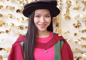 Cô gái Tày là giám đốc quản lý khóa cao học trẻ nhất đại học ở Anh