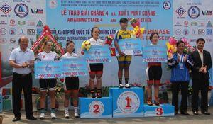 Tuyển thủ Thái Lan Jutatip giành chiến thắng chặng 4 Giải xe đạp nữ quốc tế Bình Dương 2019