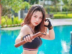 4 hot girl võ thuật: Người có 16 HCV karate, kẻ biết múa côn nhị khúc