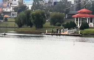 Kinh hãi 'câu được' thi thể người đàn ông dưới hồ