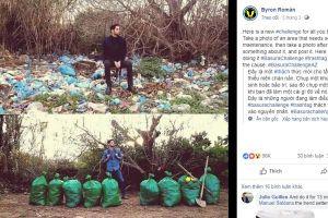 Thử thách dọn rác sẽ thế chỗ cho trào lưu Thử thách Momo?