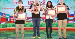 Kỳ thủ Wang Hao lần thứ hai vô địch Giải HDBank