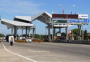 Dự án BOT Quốc lộ 1 qua Quảng Nam của Cienco5 hụt sâu doanh thu vì cao tốc miễn phí