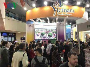 Gian hàng Việt Nam nổi bật tại Hội chợ Du lịch quốc tế 2019 tại Nga