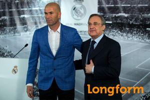 Zidane tái xuất và lời tuyên chiến của Real Madrid