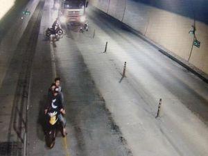 Truy tìm nhóm côn đồ dùng hung khí chặn đầu xe ô tô trong hầm Phước Tượng