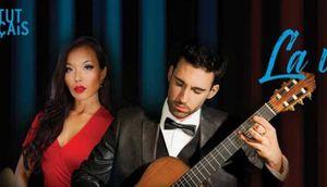 Song tấu guitar Lê Thu & Thierry Bégin với những tuyệt phẩm âm nhạc Pháp