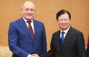 Deputy PM hails Gazprom's investment expansion plans in Vietnam