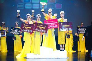 Diệu Thúy giành vương miện 1,5 tỷ đồng Hoa hậu Doanh nhân Hoàn vũ 2019