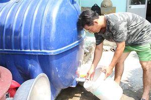 Mòn mỏi chờ nước sạch
