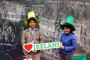 Phố đi bộ sôi động với Ngày Ireland