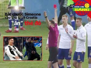 Cầu thủ nhận thẻ đỏ vì ăn mừng kiểu Simeone, U-23 VN thắng 6-1