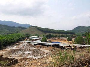 Quảng Nam: Công ty 6666 lén lút tận thu vàng bất chấp lệnh cấm