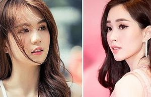 Hoa hậu Đặng Thu Thảo và Ngọc Trinh lọt top 100 gương mặt đẹp nhất châu Á